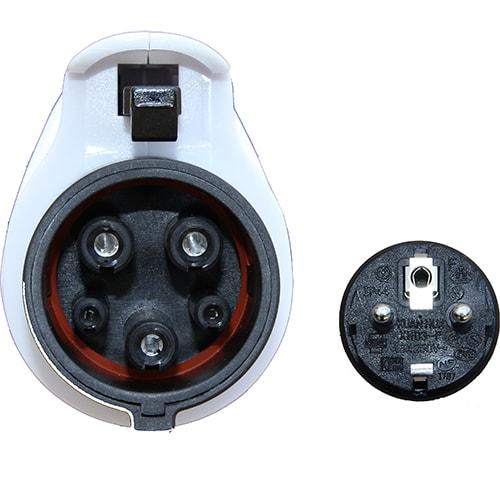 5-EV EVSE Typ 1 (max. 16A) Mobile Ladestation für Elektroautos